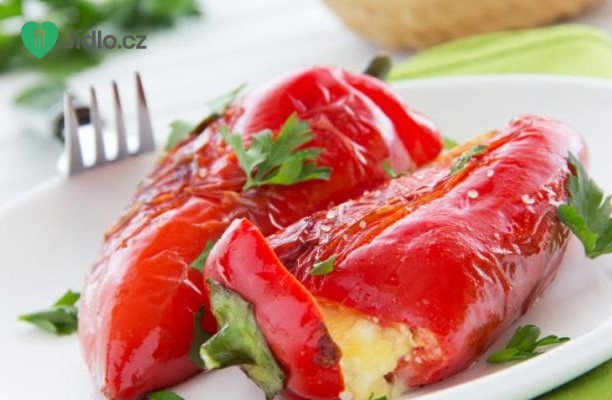 Grilované papriky s feta