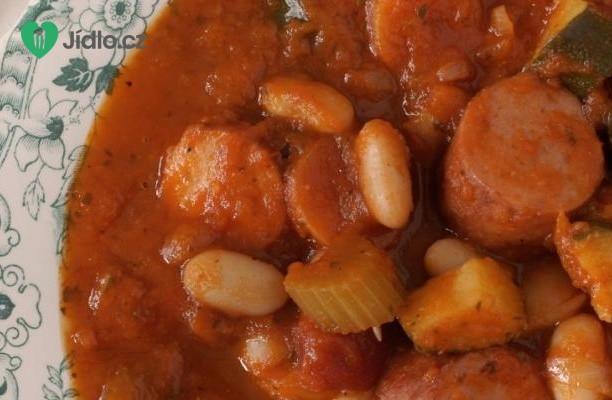 Italská polévka s klobásou
