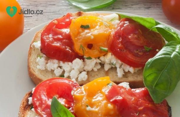 Topinky s rajčaty