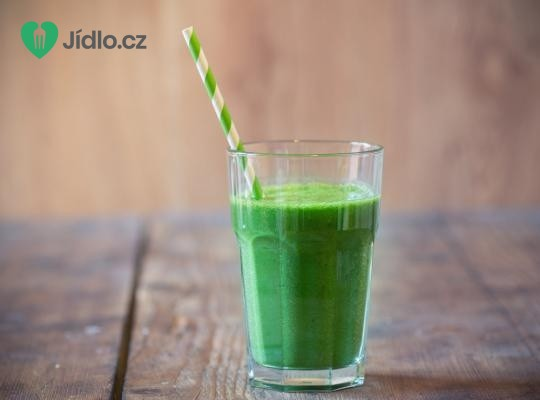 Zelené zázvorovo broskvové smoothie