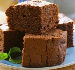 Čokoládový brownie koláč