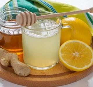 Šumivá zázvorová limonáda