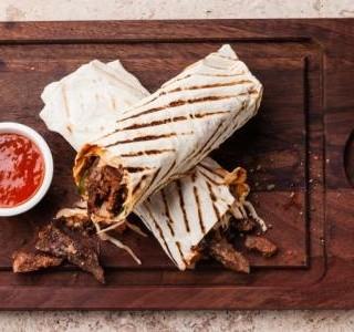 Burrito na korejský způsob
