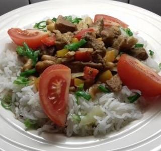 Čína s jasmínovou rýží
