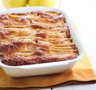 Citronový koláč s pudinkem