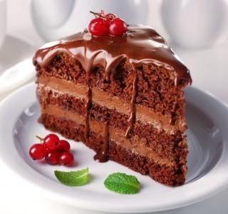 Čokoládový dortový krém