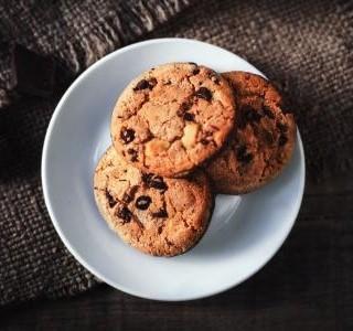 Cookies s kousky čokolády