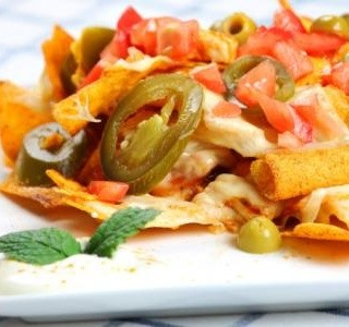 Grilované kuře Nachos