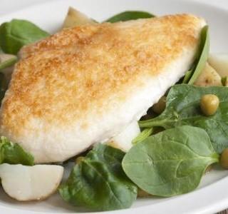 Jarní kuře s parmezánem a brambory