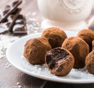 Kokosové kuličky s kakaem