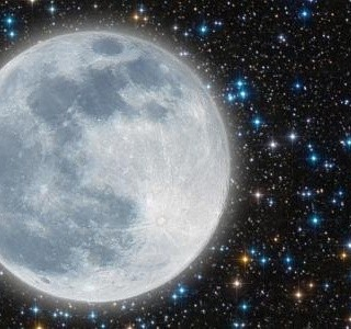 Koláč Měsíční krajina