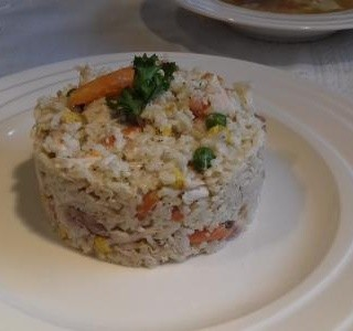 Kuřecí rizoto se zeleninou