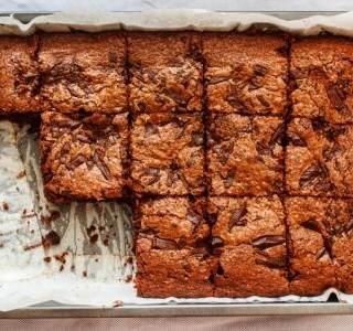 Lahodný čokoládový koláč