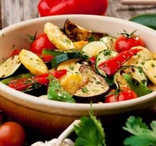 Pečená podzimní zelenina