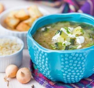 Rychlá polévka s rýží