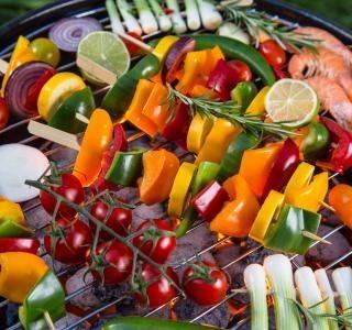 Špíz plný zeleniny