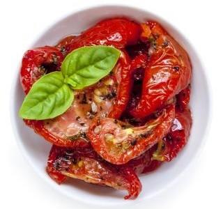 Sušená rajčata v sušičce