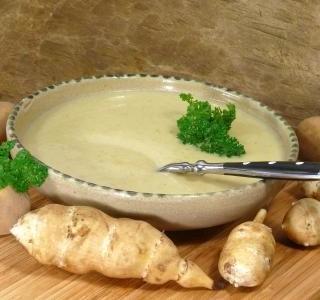 Topinamburová polévka