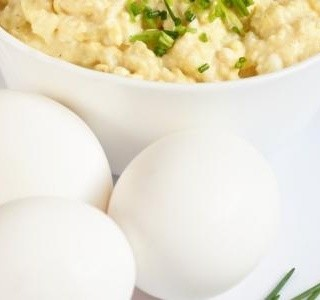 Vaječná pomazánka s celerem