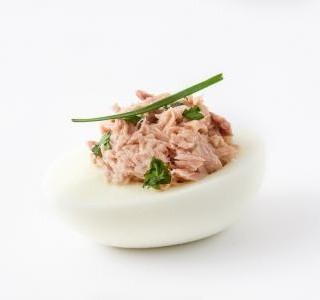 Vejce s tuňákem