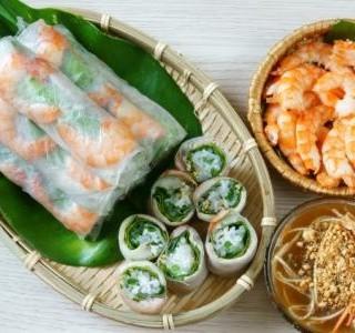 Vietnamská rolka s krevetami