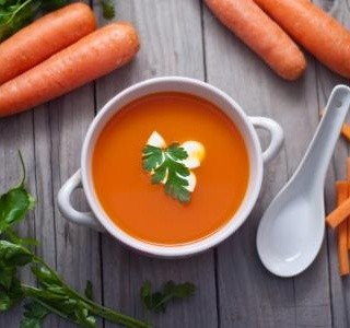 Výborná mrkvová polévka