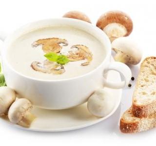 Žampionová polévka