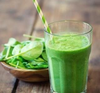 Zelené smoothie se špenátem