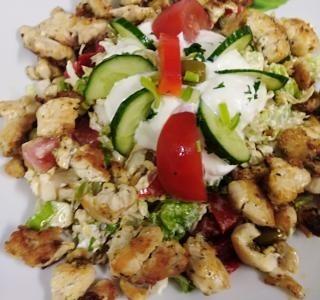 Kureci salát