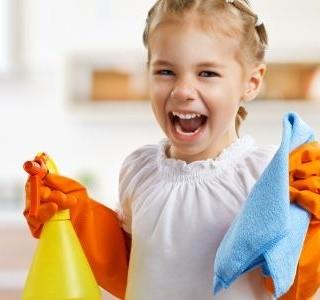 Jak jsme zapojili děti do úklidu domácnosti