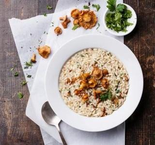 Jak uvařit italské risotto