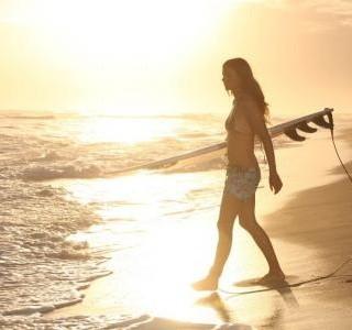 O jídle surfařka Tereza Olivová