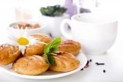 Bezlepkové čajové pečivo