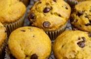 Dýňové muffiny s čokoládou