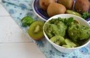 Kiwi zmrzlinka s medem