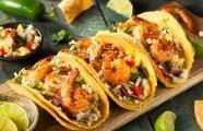 Krevety v pivním těstíčku v Tacos