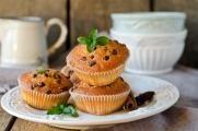 Muffiny s čokoládou