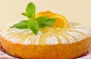 Pomerančový koláč z mandlové mouky