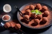 Truffles z tmavé čokolády