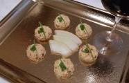 Vajíčková pomazánka se sušenými rajčátky