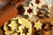 Vánoční tvarohové cukroví