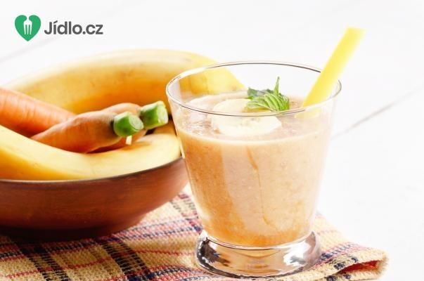 Recept Banánové smoothie s jablkem a mrkví