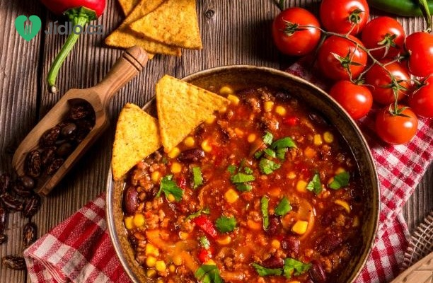 Chilli con carne recept