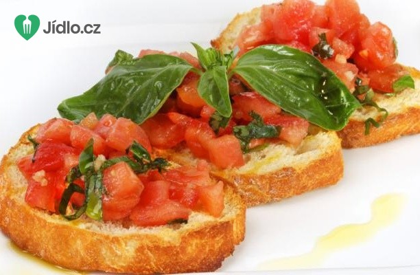 Tomatová bruschetta (brusketa)