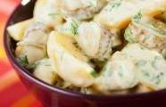 Bylinkový bramborový salát