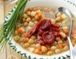 Cizrna se sušenými rajčátky (špenátem)