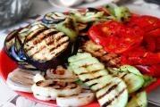 Grilovaná zelenina s náplní