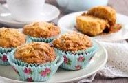 Jablečné muffiny s rozinkami