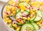 Letní kukuřičný salát