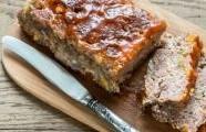 Pečené mleté maso s barbecue omáčkou